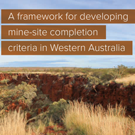 New standards support successful mine closure