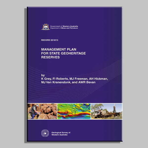 Management plan for State geoheritage reserves in WA